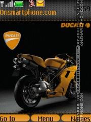Ducati Bike es el tema de pantalla