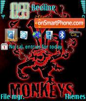 12 Monkeys theme screenshot