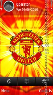 Manchester tema screenshot