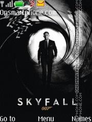 Sky Fall es el tema de pantalla