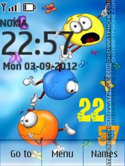 Flight theme screenshot