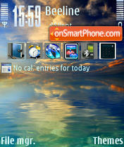Sea View V2 theme screenshot