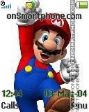 Mario tema screenshot