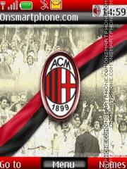 AC Milan theme screenshot