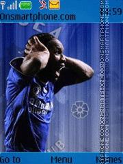 Didier Drogba theme screenshot