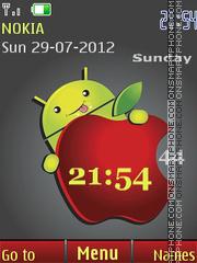 Funny android es el tema de pantalla