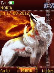 Fire wolf es el tema de pantalla