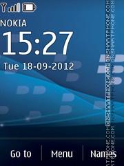 Blackberry bold c3 theme screenshot