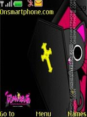 Gothic World Of Nyanpire theme screenshot