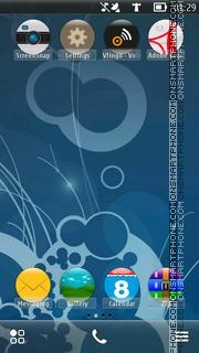 Capture d'écran Abstract Mieno thème