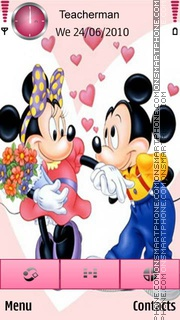 Mickey Mouse es el tema de pantalla