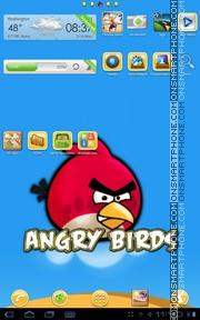 Angrybirds 01 theme screenshot