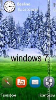 W-S theme screenshot