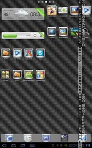 Silver Droid tema screenshot