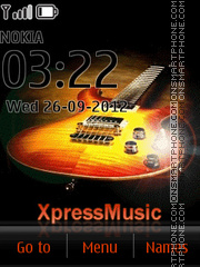 Express Music Awesome Icons es el tema de pantalla