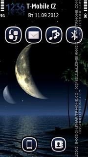 Tropic Nights theme screenshot