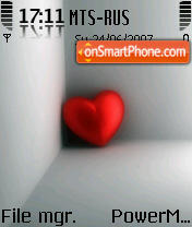 Heart 02 es el tema de pantalla