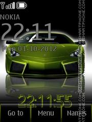 Green Auto theme screenshot