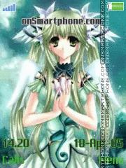 Green Anime es el tema de pantalla