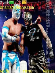 WWE Rey Mysterio Sin Cara theme screenshot