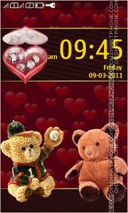 Teddy Love 04 theme screenshot