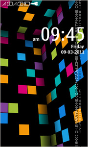 Lumia Theme for Nokia Asha305 theme screenshot