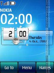 Windows 7 Digital theme screenshot