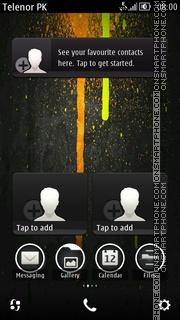 Capture d'écran Riger thème