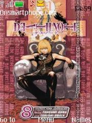 Death Note Mello theme screenshot