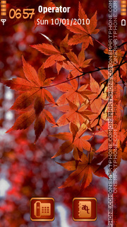 Autumn Leaves es el tema de pantalla