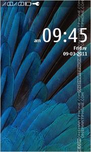 Скриншот темы Blue Belle Theme