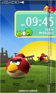 AngryBirds FullTouch theme screenshot