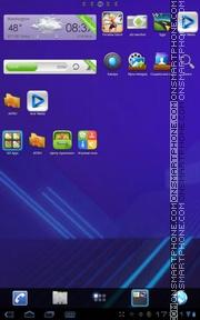 Honeycomb 04 tema screenshot