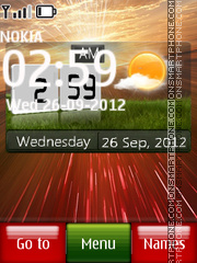 Windows Digital 03 theme screenshot