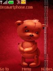 Teddy Bear 07 theme screenshot