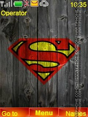 Superman theme screenshot