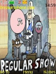Regular Show theme screenshot