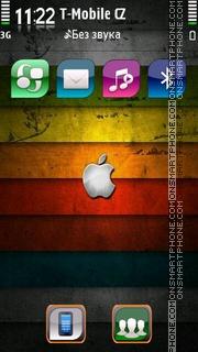 Grunge Apple tema screenshot