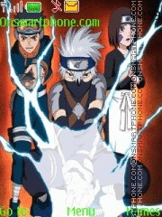 Naruto Kakashi Gaiden es el tema de pantalla
