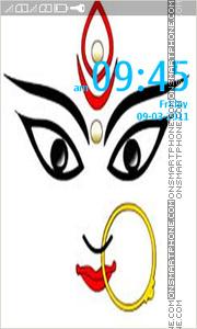 Durga Puja theme screenshot