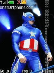 Volador jr Superhero theme screenshot