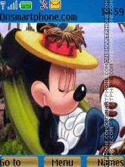 Mickey Mouse 22 theme screenshot