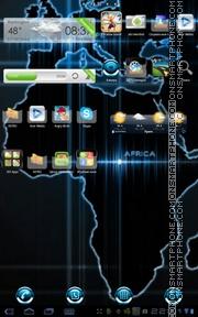 Earthmaps es el tema de pantalla