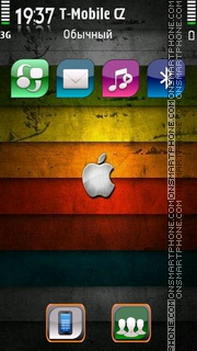Abstract Apple 01 theme screenshot