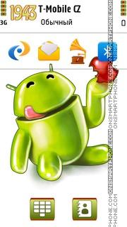 Android 09 tema screenshot