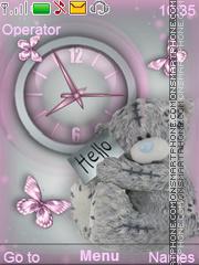 Teddy bear theme screenshot