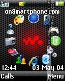 Carbon tema screenshot