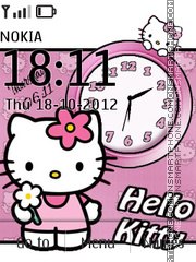Hello kitty Dual theme screenshot