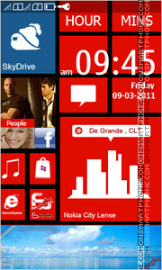Lumia 820 tema screenshot