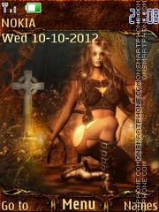Gothic autumn es el tema de pantalla